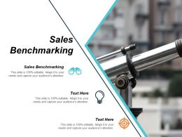 Sales Benchmarking Ppt Powerpoint Presentation Styles Slide Cpb