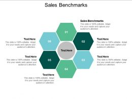 Sales Benchmarks Ppt Powerpoint Presentation Outline Structure Cpb