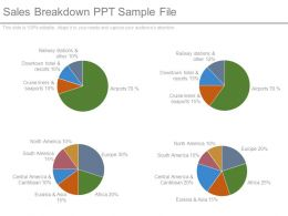 Sales Breakdown Ppt Sample File