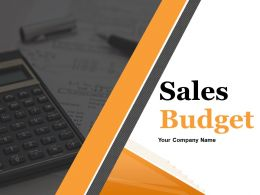 Sales Budget Powerpoint Presentation Slides
