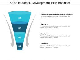 Sales Business Development Plan Business Ppt Powerpoint Presentation Pictures Model Cpb