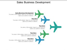 Sales Business Development Ppt Powerpoint Presentation Professional Templates Cpb