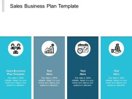 Sales Business Plan Template Ppt Powerpoint Presentation Infographic Template Background Images Cpb