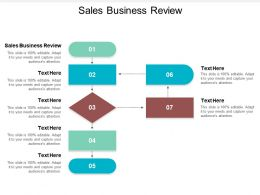 Sales Business Review Ppt Powerpoint Presentation Ideas Picture Cpb