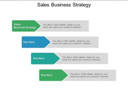 Sales Business Strategy Ppt Powerpoint Presentation Icon Inspiration Cpb