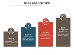 Sales Call Approach Ppt Powerpoint Presentation File Introduction Cpb