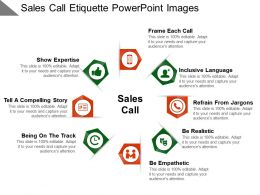 Sales Call Etiquette Powerpoint Images