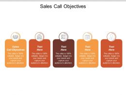 Sales Call Objectives Ppt Powerpoint Presentation Infographic Template Background Image Cpb
