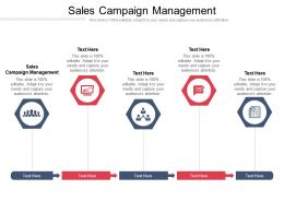 Sales Campaign Management Ppt Powerpoint Presentation Infographic Template Graphics Cpb