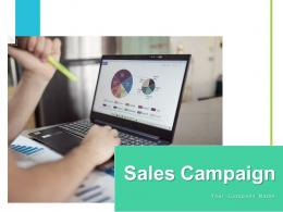 Sales Campaign Marketing Organization Product Estimated Goals Business