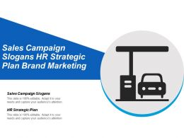 Sales Campaign Slogans Hr Strategic Plan Brand Marketing Cpb