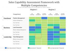 Sales Capability Assessment Framework With Multiple Competencies