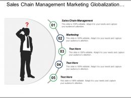 Sales Chain Management Marketing Globalization Supply Chain Management Cpb