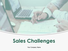 Sales Challenges Powerpoint Presentation Slides
