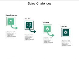Sales Challenges Ppt Powerpoint Presentation Ideas Objects Cpb
