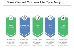 Sales Channel Customer Life Cycle Analysis Marketing Program