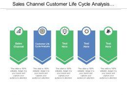 Sales Channel Customer Life Cycle Analysis Marketing Program