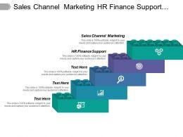 Sales Channel Marketing Hr Finance Support Information Management