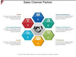 Sales Channel Partner