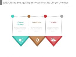 Sales Channel Strategy Diagram Powerpoint Slide Designs Download