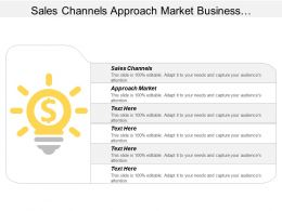 Sales Channels Approach Market Business Performance Marketing Automation