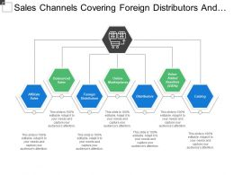 Sales Channels Covering Foreign Distributors And Online Marketplace