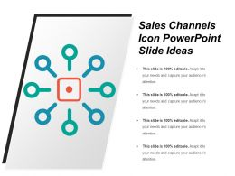 Sales Channels Icon Powerpoint Slide Ideas