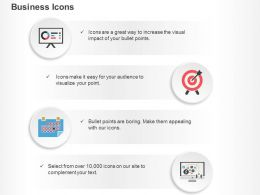 Sales Chart Target Monthly Update Ppt Icons Graphics
