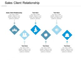 Sales Client Relationship Ppt Powerpoint Presentation Inspiration Icons Cpb
