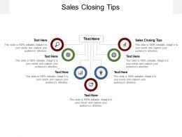 Sales Closing Tips Ppt Powerpoint Presentation Styles Shapes Cpb