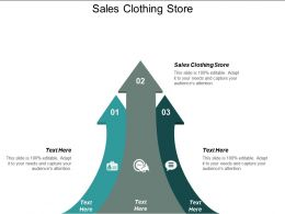 Sales Clothing Store Ppt Powerpoint Presentation Icon Example Introduction Cpb
