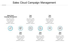 Sales Cloud Campaign Management Ppt Powerpoint Presentation Summary Graphics Cpb
