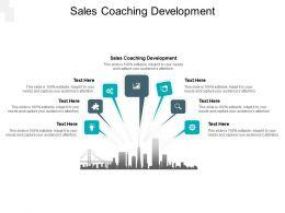 Sales Coaching Development Ppt Powerpoint Presentation Professional Slide Cpb
