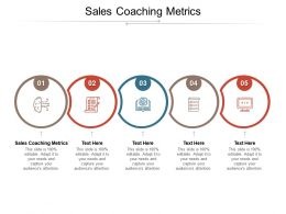 Sales Coaching Metrics Ppt Powerpoint Presentation Model Example Topics Cpb