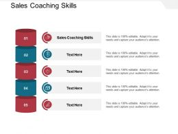 Sales Coaching Skills Ppt Powerpoint Presentation Gallery Designs Download Cpb