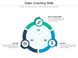 Sales Coaching Skills Ppt Powerpoint Presentation Portfolio Example Introduction Cpb