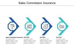 Sales Commission Insurance Ppt Powerpoint Presentation Model Themes Cpb