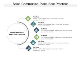 Sales Commission Plans Best Practices Ppt Powerpoint Presentation Inspiration Themes Cpb