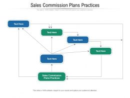 Sales Commission Plans Practices Ppt Powerpoint Presentation Inspiration Slide Download Cpb