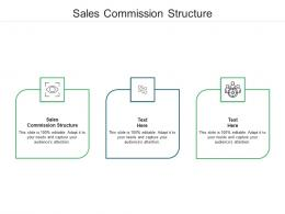 Sales Commission Structure Ppt Powerpoint Presentation Styles Layouts Cpb