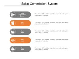 Sales Commission System Ppt Powerpoint Presentation Outline Ideas Cpb
