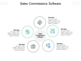 Sales Commissions Software Ppt Powerpoint Presentation Gallery Designs Cpb