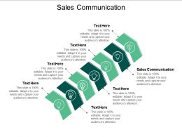Sales Communication Ppt Powerpoint Presentation Tips Cpb