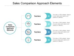 Sales Comparison Approach Elements Ppt Powerpoint Presentation Outline Show Cpb