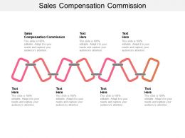 Sales Compensation Commission Ppt Powerpoint Presentation Show Infographic Template Cpb