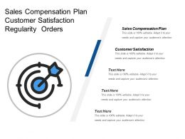 Sales Compensation Plan Customer Satisfaction Regularity Orders