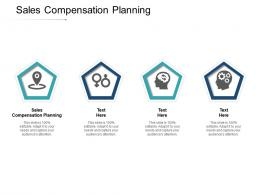 Sales Compensation Planning Ppt Powerpoint Presentation Model Styles Cpb
