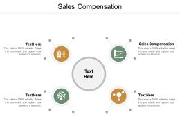 Sales Compensation Ppt Powerpoint Presentation Visual Aids Infographics Cpb