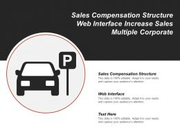 Sales Compensation Structure Web Interface Increase Sales Multiple Corporate