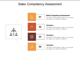 Sales Competency Assessment Ppt Powerpoint Presentation Pictures Introduction Cpb